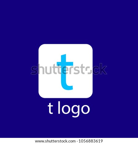t font icon for button, twitter social media icon set