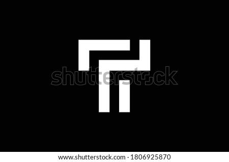 T letter logo design on luxury background. TT monogram initials letter logo concept. T icon design. TT elegant and Professional white color letter icon design on black background. T TT