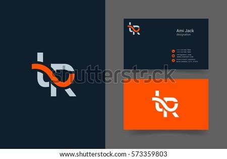 T & R Letter logo design vector element Stock fotó ©