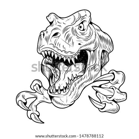 t rex tyrannosaurus rex big