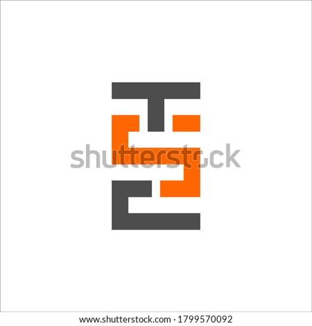T S C logo design vector sign Stock fotó ©
