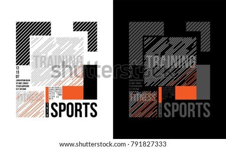 t shirt design sports training