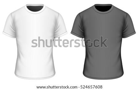 T-shirt for boys. Children's t-shirt. Fully editable handmade mesh. Vector illustration