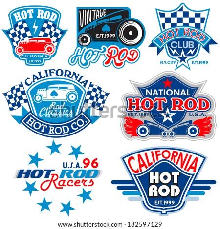 t shirt graphics hot rod logos