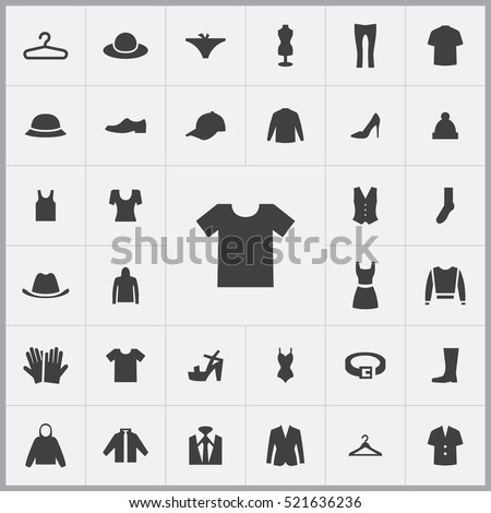 t shirt icon clothes icons