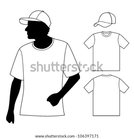 vector images illustrations and cliparts t shirt men s template
