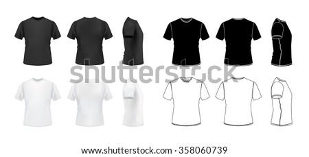 t shirt mockup set  3d