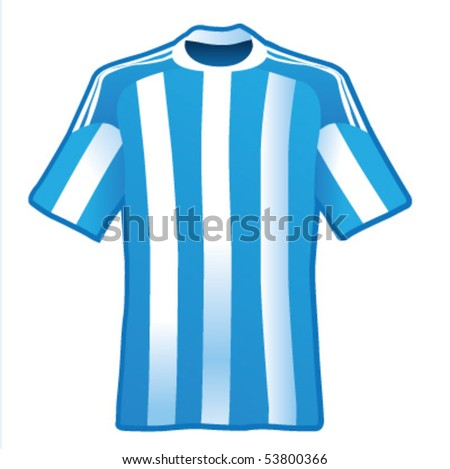 t shirt of soccer of argentina