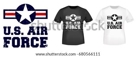 t shirt print design us air