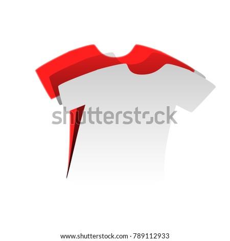 t shirt sign vector