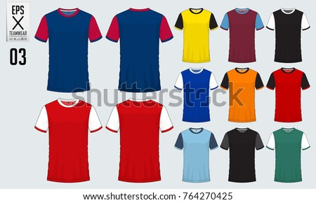 soccer jersey icons vectors download free vector art stock