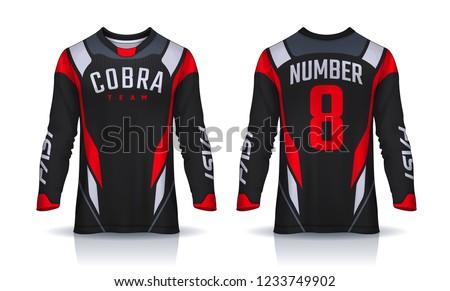 7a1b64be50a Soccer Sports Jersey Vectors - Download Free Vector Art