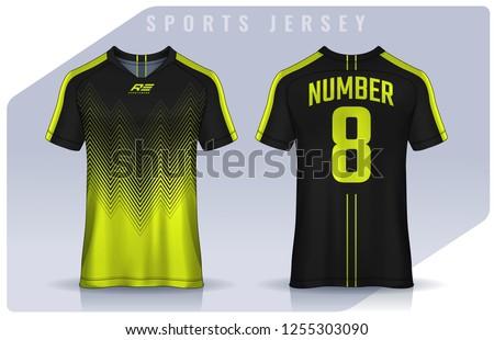 info for c5bdf f1382 Soccer Sports Jersey Vectors - Download Free Vectors ...