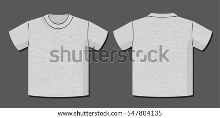 t shirt vector template with