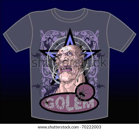 T-shirt 12 vector, vector illustration