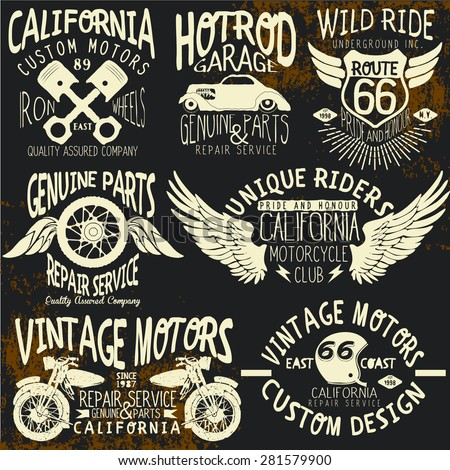 t shirt vintage logo sets for t