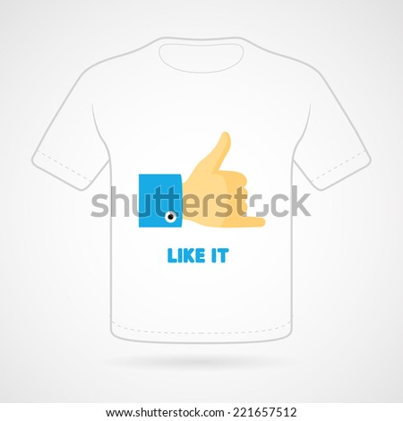 t shirt with funny print on