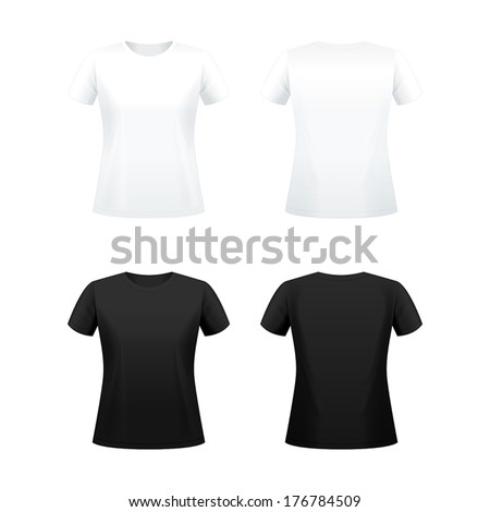t shirts for women black and