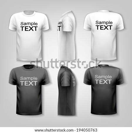 641e675c Tshirt Vector: Black Shirt - Download Free Vector Art, Stock ...