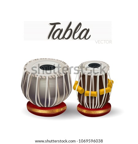 TABLA traditional Musical instrument
