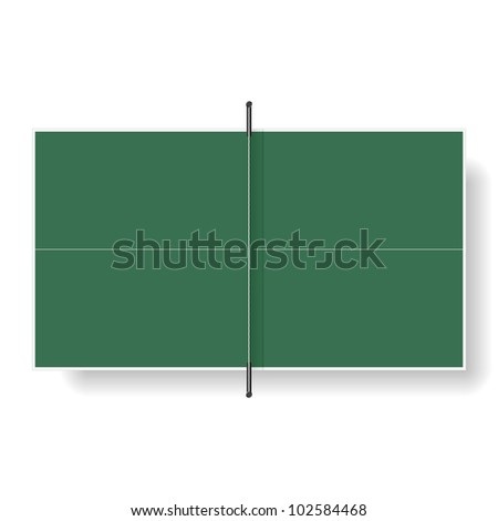 table tennis tablevector