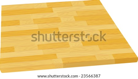 table top or cutting board with butcher block motif