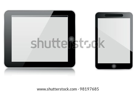 tablet computer and mobile