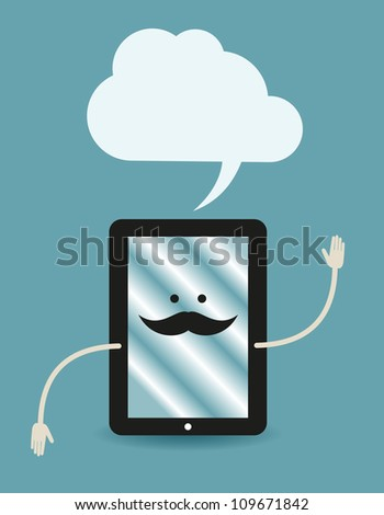tablet PC poster