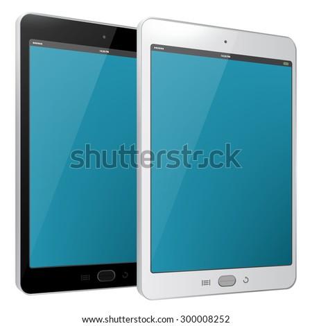 tablet pc vector illustration