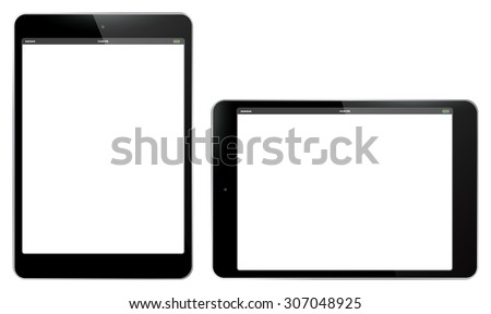 tablet pc vertical and