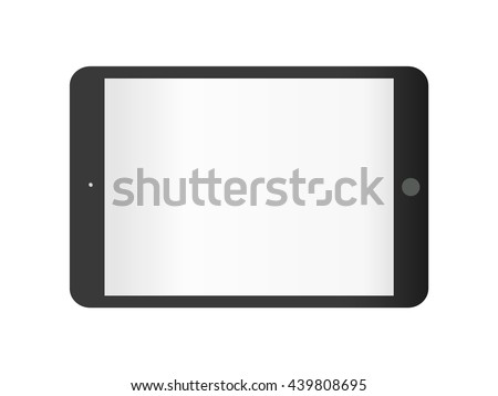 Tablet vector icon, vector. flat style