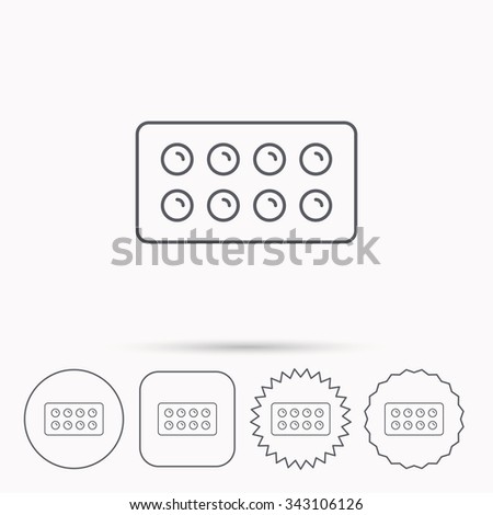 tablets icon medical pills