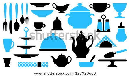 Tableware icons
