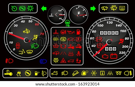 tachometers and dashboard icons
