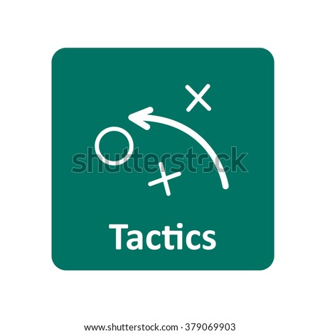 Tactics icon for web and mobile
