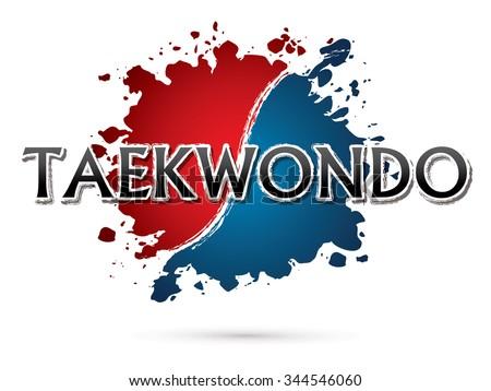 taekwondo  font   text  graphic