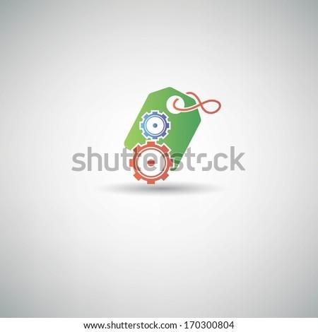 Tag Control symbol,vector