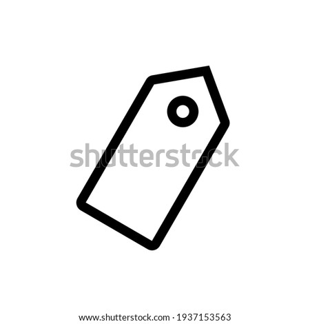Tag icon,vector illustration. Flat design style. vector tag icon illustration isolated on White background, tag icon Eps10. tag icons graphic design vector symbols.