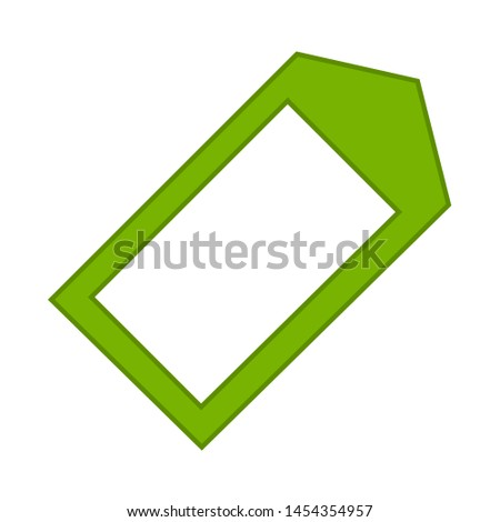 Tag label icon. flat illustration of Tag label. vector icon. Tag label sign symbol