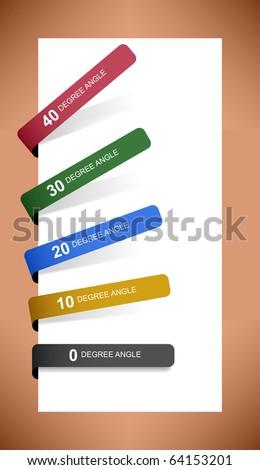 Tag Label Sticker Paper Vector