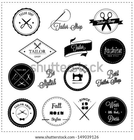Tailor shop design elements
