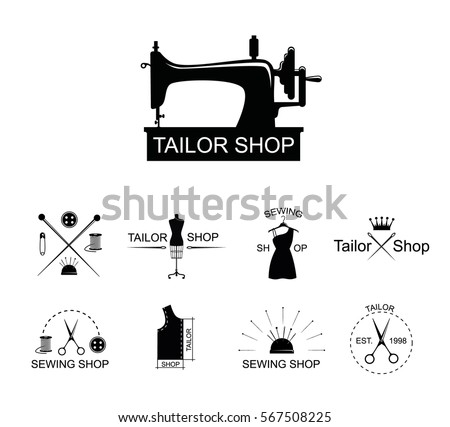 Collection Of Vintage Sewing Machine Vectors Download Free Vector