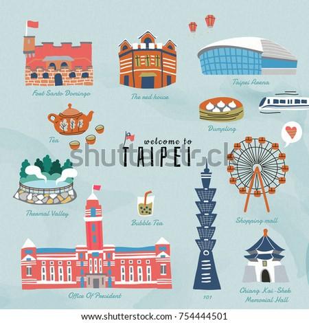 taiwan travel symbols