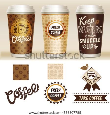 take away coffee packaging