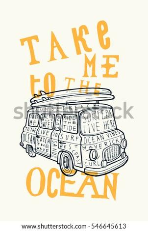 take me to the ocean vintage...