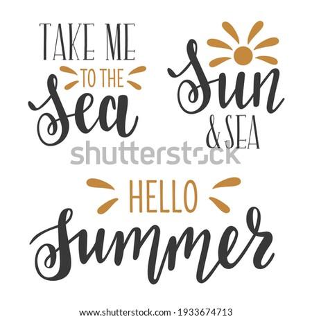 take me to the sea  sun and sea