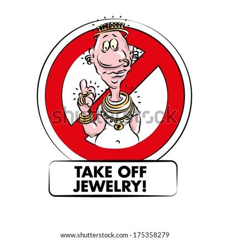 take off jewelry when working