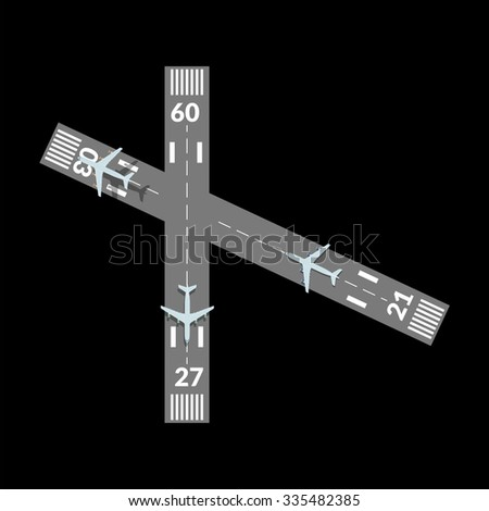 takeoff and landing airplanes