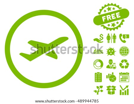 takeoff pictograph with free