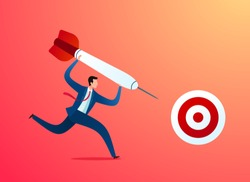 taking business action to achieve target